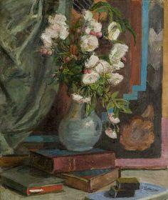 Vanessa Bell - White Roses