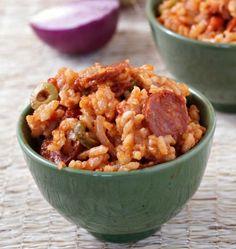 Photo de la recette : Risotto au chorizo et à la tomate
