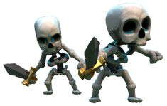 whitch skeletons