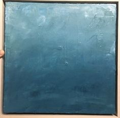 Ocean by Amy Young •12 x12 • Oil on Canvas • available through the artist •