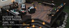 Composite Decking, Railing & Fencing Materials - TimberTech