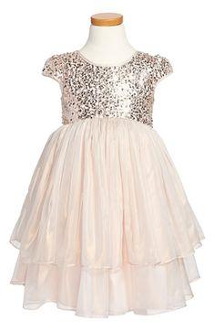Little Girls Sequin Dresses