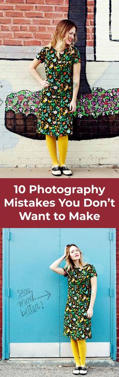 10 things to avoid when taking photos