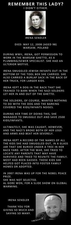 An amazing woman. True hero!