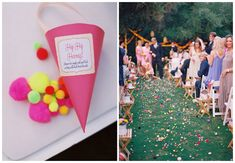 Alternatives to confetti for your beach wedding | Beach Weddings Bournemouth