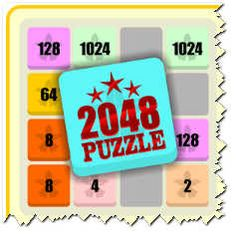 This is a mind puzzle and helpful to scholars to improve their intelligence. This is also a mind refresher game.This is needed to reach 2048 values before filled all bloc....