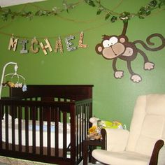 Oh, I love jungle decor