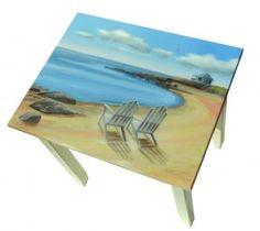 Decorative Tables - Beach Cottage Art