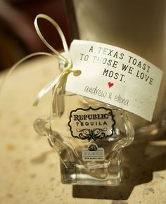 Wedding Favors Inspired by Texas | Ashley Garmon Photographers | blog.theknot.com