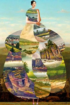 Elements Of Art Collage Famous Artists Collage Foto, Collage Artwork, Magazine Collage, Magazine Art, Magazine Images, Collages, Elements Of Nature, Famous Artists, Art Lessons