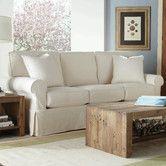 Found it at Wayfair - Rowe Basics Nantucket Slipcovered Sofa & Chair