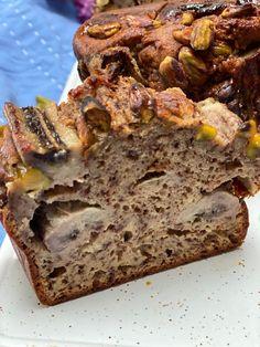 Bananenbrood recept met chocolade en pistachenootjes - Foodinista
