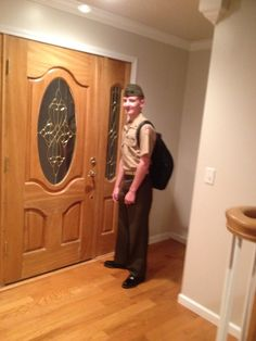 Jacob in his ROTC uniform during his Junior year.
