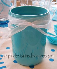 Simply Designing with Ashley: Painted Mason Jars
