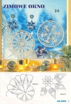 "Photo from album ""Moje robotki on Yandex. Crochet Snowflake Pattern, Crochet Stars, Crochet Snowflakes, Doily Patterns, Thread Crochet, Crochet Motif, Crochet Doilies, Crochet Patterns, Dream Catcher Patterns"