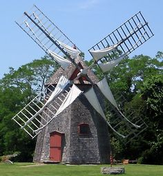 Windmill on the Eastham Green (Mass.)