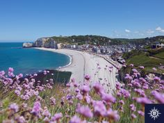 A landscape which inspired #Monet. Explore the natural beauty of Étretat ,#France on a #MSC Northern Europe #cruise
