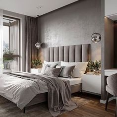 Luxurious bedrooms - 30 Minimalist Bedroom Decor Ideas that are Not Too much but Just Enough – Luxurious bedrooms Luxury Bedroom Furniture, Luxury Bedroom Design, Master Bedroom Design, Home Decor Bedroom, Bedroom Ideas, Interior Design, Modern Furniture, Rustic Furniture, Bedroom Design Minimalist