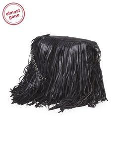 Leather Bochoa Shoulder Bag