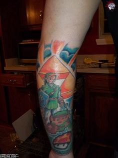 12 Great Video Game Tattoos