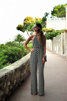 I completely forgot that I shot this outfit while I was in South of France 3 weeks ago… I'm wearing a Diane Von Furstenberg Jumpsuitthat I love to bits, definitely a keeper and will transition very well into my fall/winter wardrobe too! Photos by Yasaman Bakhtiar