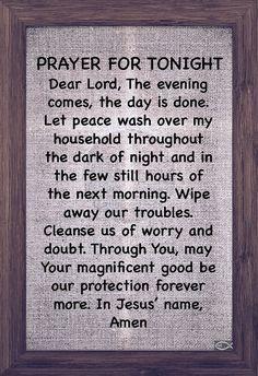 Prayer For Guidance, Good Night Prayer, Prayer For The Day, Good Night Blessings, Prayer For Family, Spiritual Prayers, Prayers For Strength, Spiritual Quotes, Prayer Quotes
