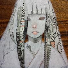 #maskingtape #collage #mixedmedia #mayannlicudine #washitape #washi