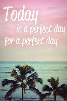 Have a perfect day!