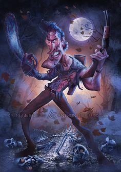 Ash vs Evil Dead by AnthonyGeoffroy.deviantart.com on @DeviantArt