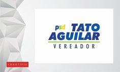 Logomarca desenvolvida para o vereador de Caraguatatuba Tato Aguilar