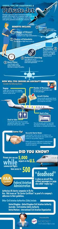 Flying in private jets is recommended for people who trravel on a regular basis,such as businessmen. More Info http://www.incredijet.com/