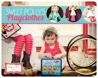 WISH-LIST - 7 tops and bottom patterns!!! Sweet Polly's Playclothes - Izzy & Ivy (size 1 - 14)