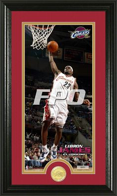 AAA Sports Memorabilia LLC - LeBron James Bronze Coin Panoramic Photo Mint - Cleveland Cavaliers, $59.99 (http://www.aaasportsmemorabilia.com/nba/lebron-james-bronze-coin-panoramic-photo-mint-cleveland-cavaliers/)