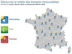 La météo des énergies renouvelables www.meteo-renouvelable.fr/