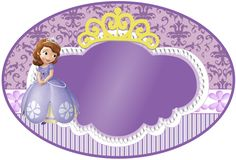 Sweet Sofia the First: Free Printable Invitations and Candy Bar Labels. Princess Sofia Party, Princess Sofia The First, Beatles Party, Princesa Sophia, Sofia The First Birthday Party, Candy Bar Labels, Free Printable Invitations, Printables, Princess Drawings