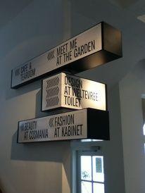 Hotel / Corridor Signage at the Ace Hotel London — Designspiration