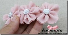 Fabric Flower by Baomajia