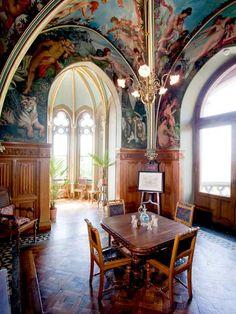 Drachenburg.  --  Kneipzimmer.