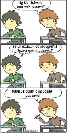 #historias de un #examen... #docsity #humor #universidad
