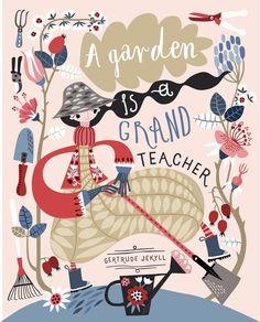 "852 Me gusta, 25 comentarios - Asa Gilland Soeprapto (@asagilland) en Instagram: ""Gardening is really not my thing but it's fun to draw it. #matsbootcamp #makeartthatsells…"""