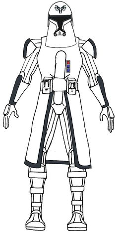 Clone Trooper Wolf Pack Cold Assault Corps