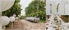 Styled wedding dinner at Olmenhorst, styling by Style of Kesz