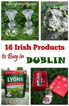 Is Dublin your next destination? Then check out this guide which is bound to inspire your shopping activities! Here is a list of 16 Irish products that are locally distinct.