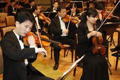 North korean orchestra