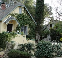 Ojai, California- How weird to find the house you grew up in on Pinterest.....    402  West Topa Topa.