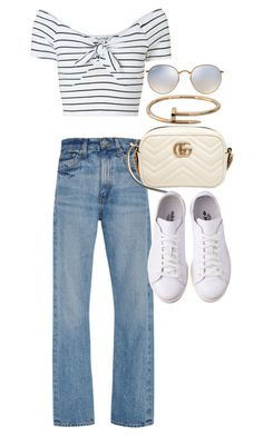 """Untitled #21993"" by florencia95 ❤ liked on Polyvore featuring Ray-Ban, Brock Collection, Miss Selfridge, Gucci and Cartier"