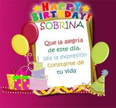 images-of-happy-birthday-niece - Gifts for Women Happy Birthday Niece, Happy Birthday Celebration, Happy Birthday Greetings, Birthday Wishes, Birthday Clips, Birthday Frames, Spanish Birthday Cards, Happy B Day, Birthday Pictures