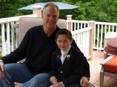 Nicholas & me at his Communion, 2009. He is a little Tough guy & so much fun to hang with.