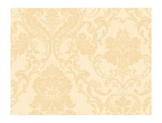 Gold-Cream-Victorian-Strie-Damask-Wallpaper-Double-Roll-Bolts-FREE-SHIPPING