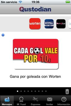 Cada Gol vale por 10€ con Worten #MarketingMovil http://blog.es.qustodian.com/?p=2934